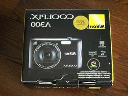 Brand New Nikon Coolpix A300 20.1MP Digital Camera Wi-Fi 8X
