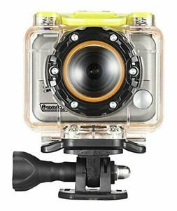 Coleman Bravo CX10WP 1080p HD Helmet and Action Camera with