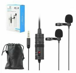 BOYA BY-M1DM 3.5mm Omnidirectional Lavalier Microphone for C