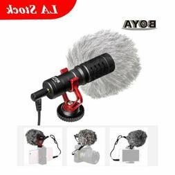 BOYA BY-MM1 Cardioid Shotgun Microphone MIC for DSLR Camera