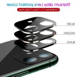 For iPhone 11 Pro Max FULL COVER HD Tempered Glass Camera Le