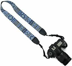 Camera Shoulder Strap Nikon Canon DSLR Digital Extra Long Vi