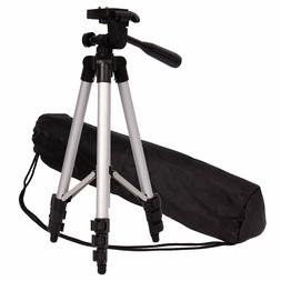 Camera Tripod Lightweight Travel with Carry Bag Adjustable f