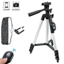 Camera Tripod Stand Holder Mount Bluetooth Remote For iPhone