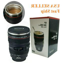 Caniam Camera Lens Thermos As Canon EF 24-105mm Coffee Tea M