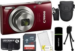 CanonPowerShot ELPH 180 20MP 8X Zoom Digital Camera  + 32G
