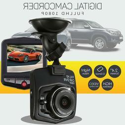 Car DVR Dash Recorder Video Camera 2.4'' LCD HD 1080P Cam Se