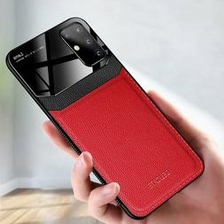 Cell Phone Cover Shockproof Leather Camera Protection Smooth