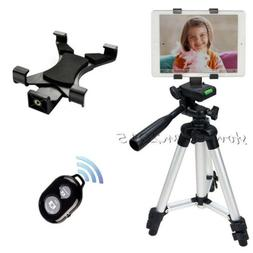 Cell Phone Tripod Mount+Tablet Holder for Tablets i Pad 2 3