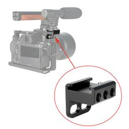 """Cold Shoe Mount Adapter 90 Degree with 2pcs 1/4"""" Screws Kit"""
