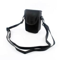 Compact DC Black Camera Case Bag For Canon Nikon Sony CASIO