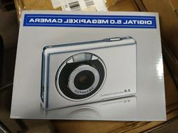 Compact Digital 5.0 Megapixel Camera 4X Zoom NIB §
