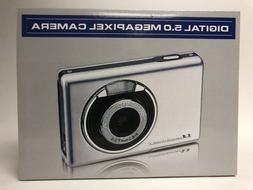 Compact Digital 5.0 Megapixel Camera 4X Zoom New in box