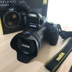 Nikon Coolpix P1000 16MP 4K Digital Camera with 125x Optical