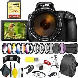 Nikon COOLPIX P1000 Digital Camera + 128GB Sandisk Extreme P