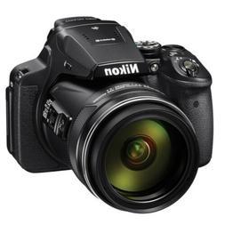 Nikon Coolpix P900 S 16MP 83x Optical Zoom Digital Camera Bl