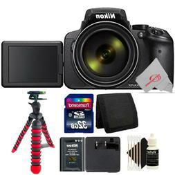 Nikon Coolpix P900 S 16MP Digital Camera Built-in WiFi + 32G