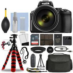 Nikon Coolpix P950 Digital Camera with 83x Zoom + Flex Tripo