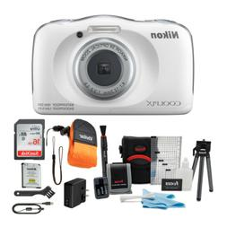 Nikon Coolpix W150 Digital Camera  with 16GB Card and Access