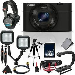 Sony Cyber-Shot DSC-RX100 Digital Camera Vlogging Kit