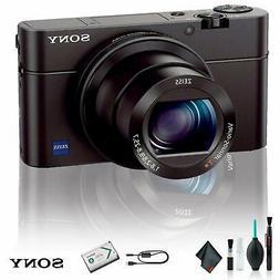Sony Cyber-shot DSC-RX100 IV Digital Camera Deluxe Bundle 01