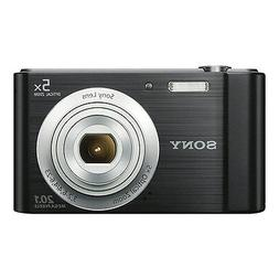 Sony Cyber-shot DSC-W800 20.1MP Digital Camera 5x Optical Zo