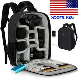 D10 Large Professional Camera Backpack Bag For Canon Nikon S