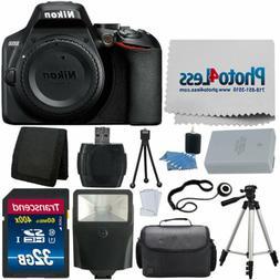 Nikon D3500 Digital SLR Camera  + 32GB Top Value Accessory K