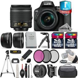 Nikon D3500 DSLR Camera + 18-55mm VR - 3 Lens Kit + 1yr Warr