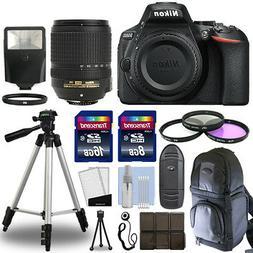 Nikon D5600 Digital SLR Camera Body + 18-140mm VR Lens + 24G