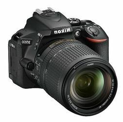 Nikon D5600 DX-format Digital SLR w/ AF-S DX NIKKOR 18-140mm