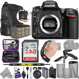 Nikon D750 DSLR Camera Body with Altura Photo Advanced Acces