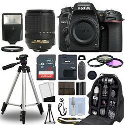 Nikon D7500 Digital SLR Camera Body + 18-140mm VR Lens + 32G