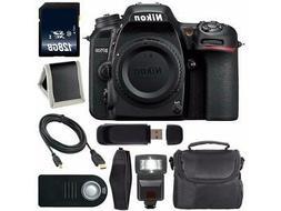 Nikon D7500 Digital SLR Camera  128GB Bundle