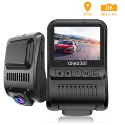 TOGUARD Dash Camera 4K UHD GPS Dash Cam Car Video Recorder P