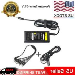 DC 12V 5A Power Supply Adapter +8 Split Power Cable for CCTV