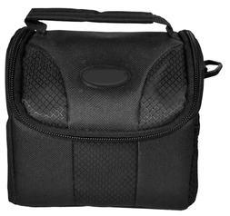 Small Black Padded Camera Bag Case for Fuji Instax Mini 9-8