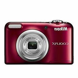 Nikon digital camera COOLPIX A10 Red 5x optical zoom 16,140,