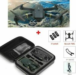 Drone X PRO Quadcopter with CASE UPGRADED Edition Selfie HD