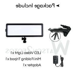 For DSLR Camera Camcorder LED Video Light Lamp Photo Light P