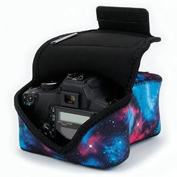 DSLR Camera Case / SLR Camera Sleeve Galaxy by USA Gear with