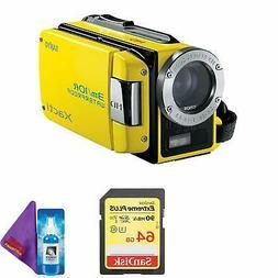 Sanyo Dual Camera Xacti 720p HD VPC-WH1 Camcorder  + Pro Mem