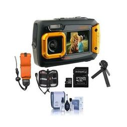Coleman Duo2 2V9WP Rugged Dual Screen Waterproof Camera Oran