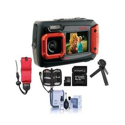 Coleman Duo2 2V9WP Rugged Dual Screen Waterproof Camera RED