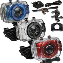 Vivitar DVR783 HD 720p 5MP Waterproof Action Camera camcorde