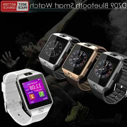 DZ09 Bluetooth Smart Watch Camera Phone GSM SIM For IOS iPho