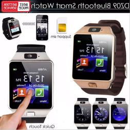 DZ09 Bluetooth Smart Watch Camera Phone GSM SIM For Android