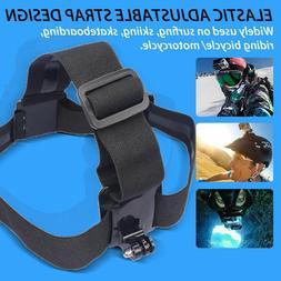 Elastic Adjustable Head Strap Mount Belt For GoPro GO PRO HD