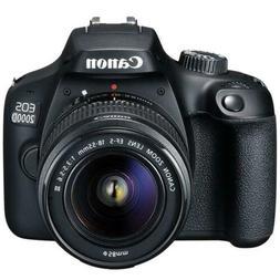 Canon EOS 2000D / Rebel T7 24.1MP CMOS 1080p DSLR Camera + E