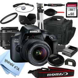 Canon EOS 4000D18.0MP DSLR Camera with 18-55mm Lens+ 32GB